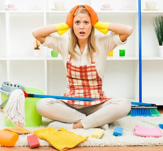 Organizzare le pulizie