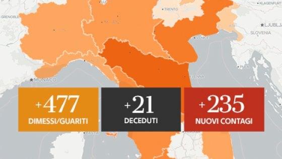 4 luglio COVID in ITALIA